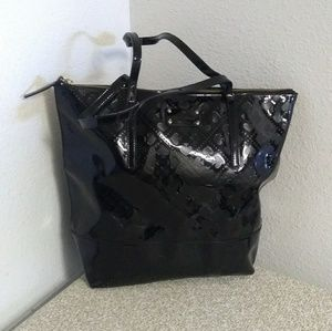Kate Spade NY Black Patent Leather Tote